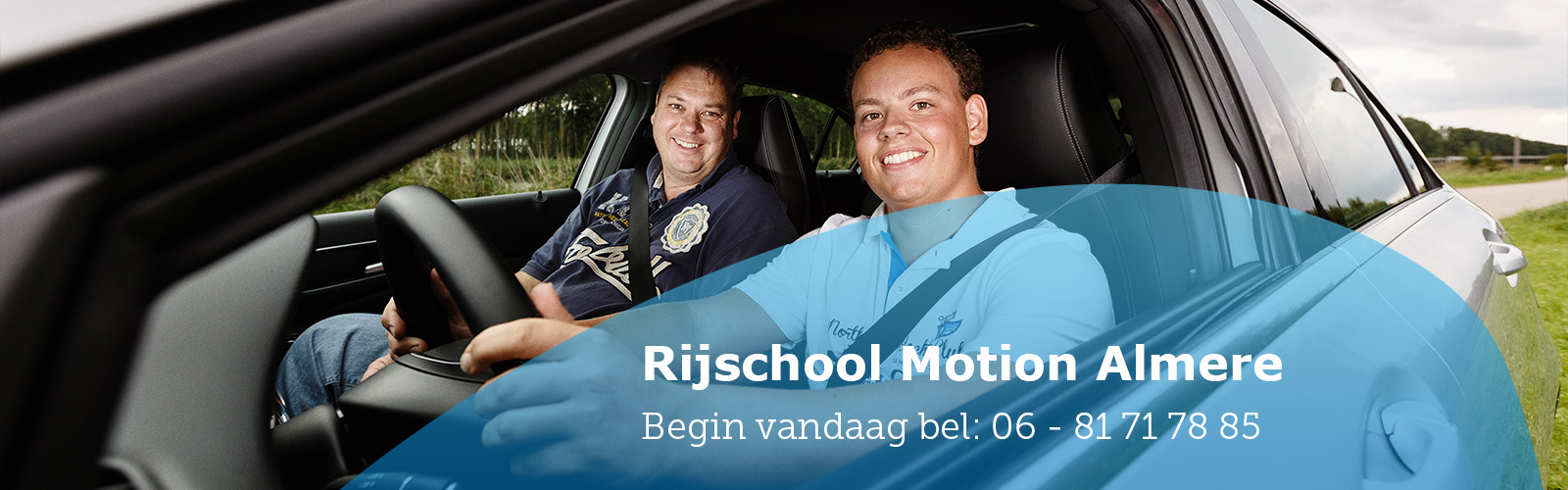 Contact Rijschool Motion Almere
