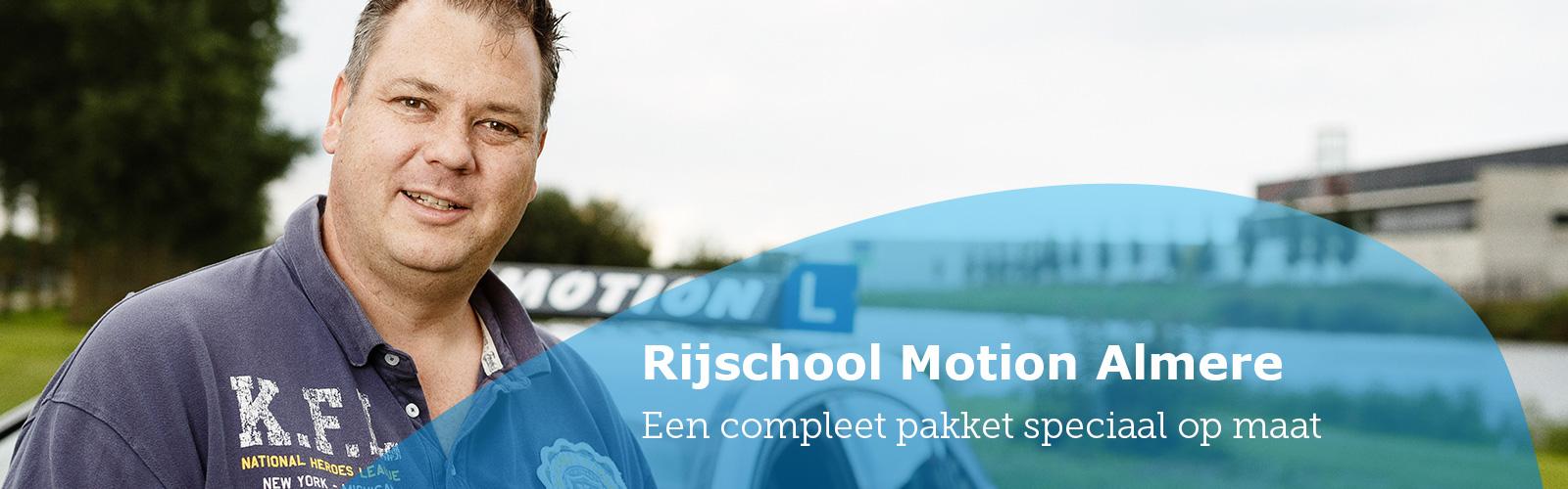 Prijzen autorijles Almere Rijschool Motion
